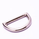 Brass D Ring Nickle Plated